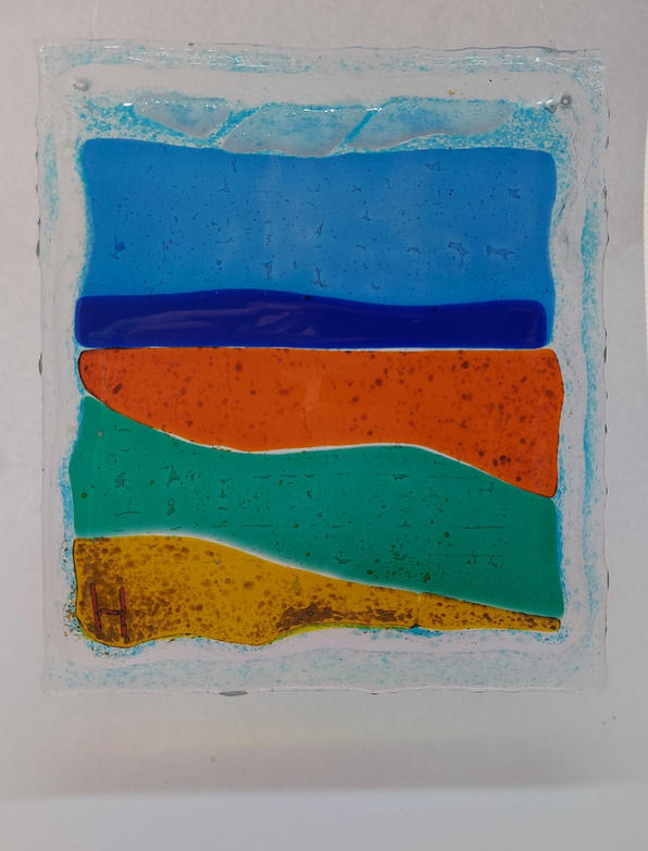 Small fused glass 3