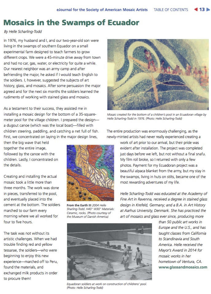 Here is an article I wrote for Groutline magazine.