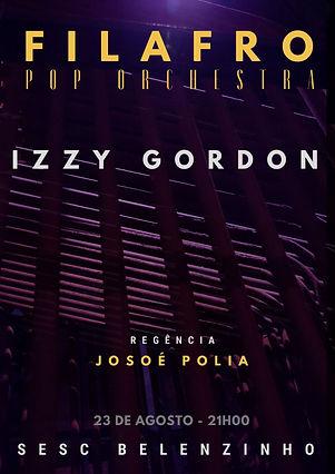 FILAFRO CONVIDA IZZY GORDON POSTER.jpg
