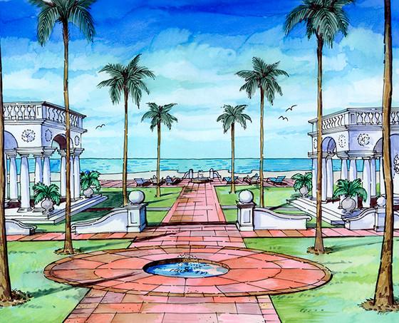 Palm Beach, FL Residence Ocean View