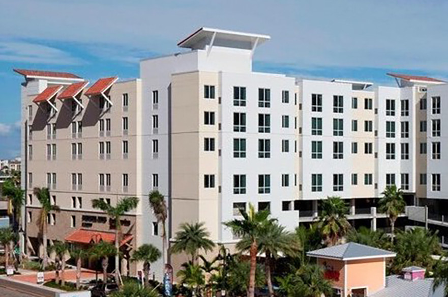 Clearwater, FL Springhill Suites/Residence Inn Exterior