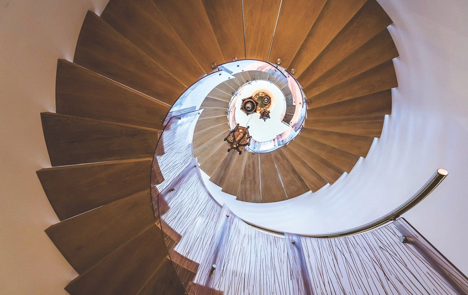 Santa Rosa, FL Residence Stair