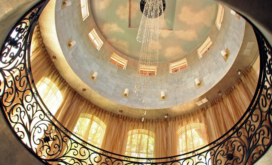 Atlanta, GA Residence Interior Rotunda