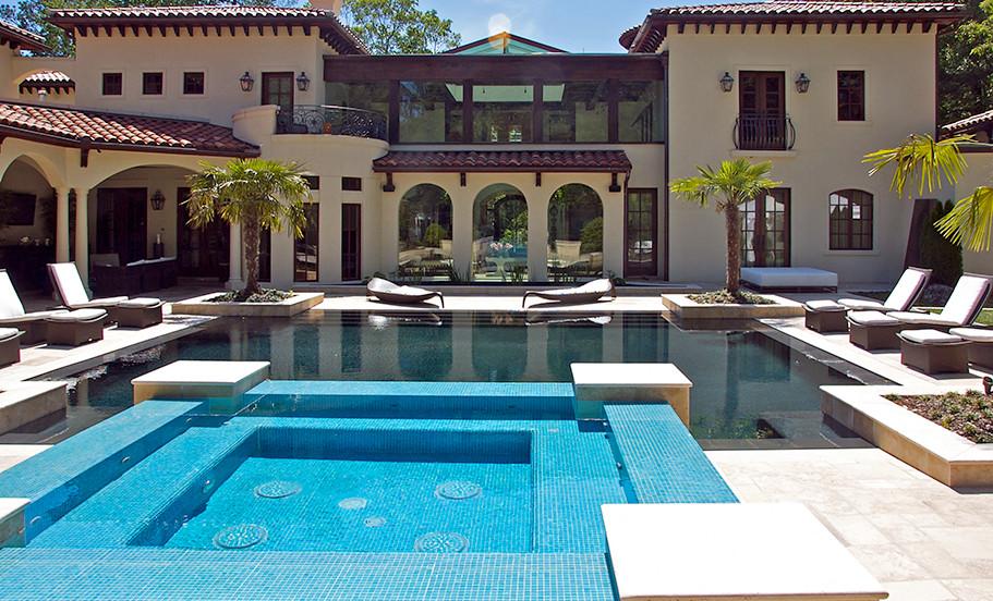 Atlanta, GA Residence Exterior Pool Day