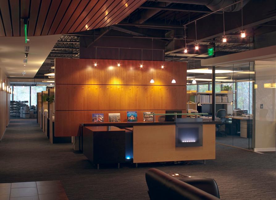 Atlanta, GA Office Building Interior Lobby