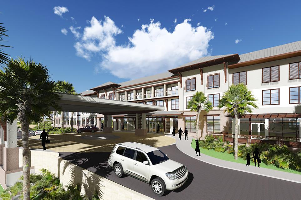St. Augustine, FL Embassy Suites Exterior Entry