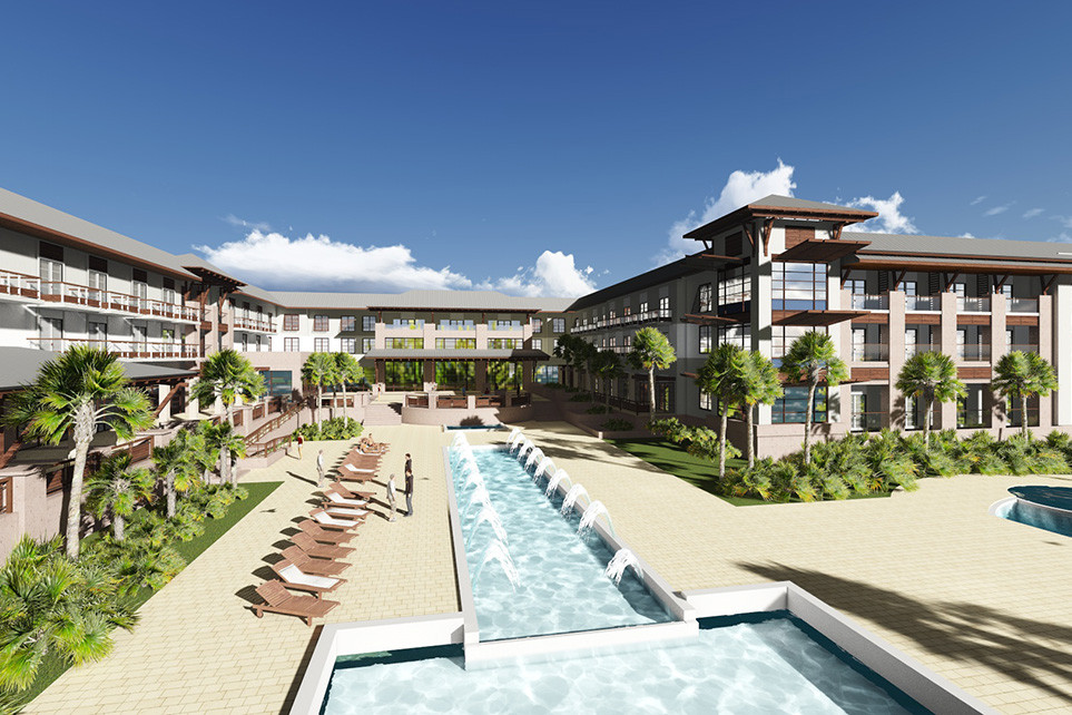 St. Augustine, FL Embassy Suites Exterior Pool