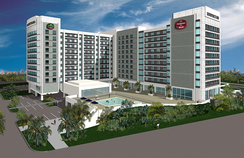 Sunrise, FL Courtyard/Residence Inn Ocean View