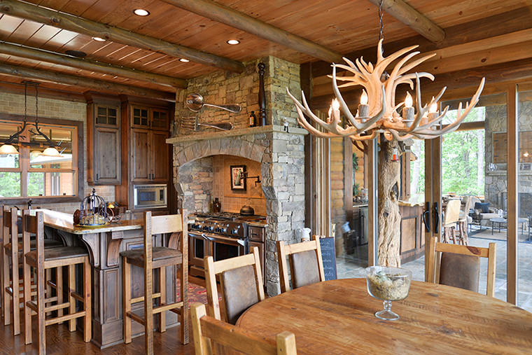 Blue Ridge, GA Residence - Dining