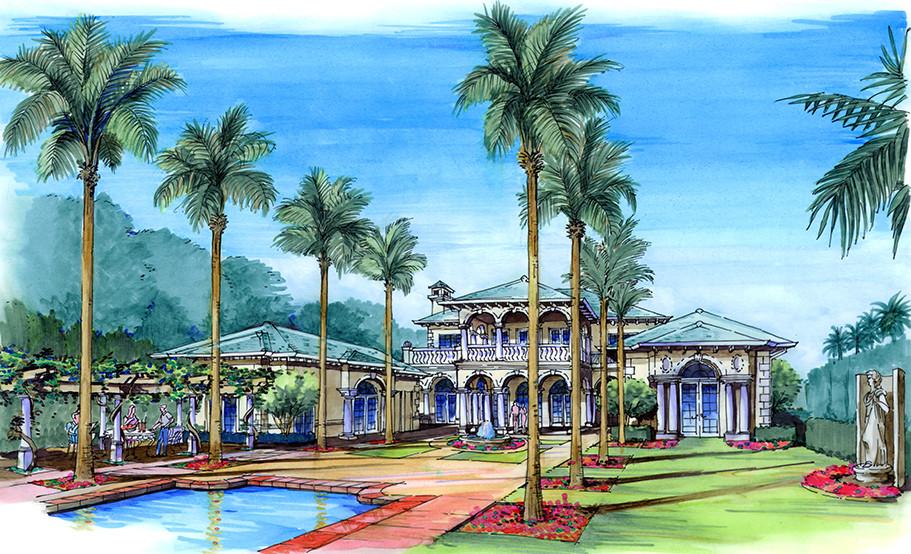 Palm Beach, FL Residence Pool