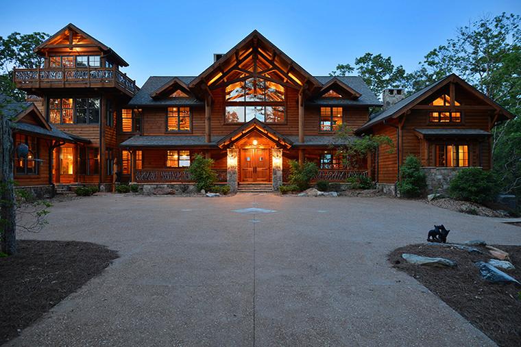 Blue Ridge, GA Residence - Front @ Dusk