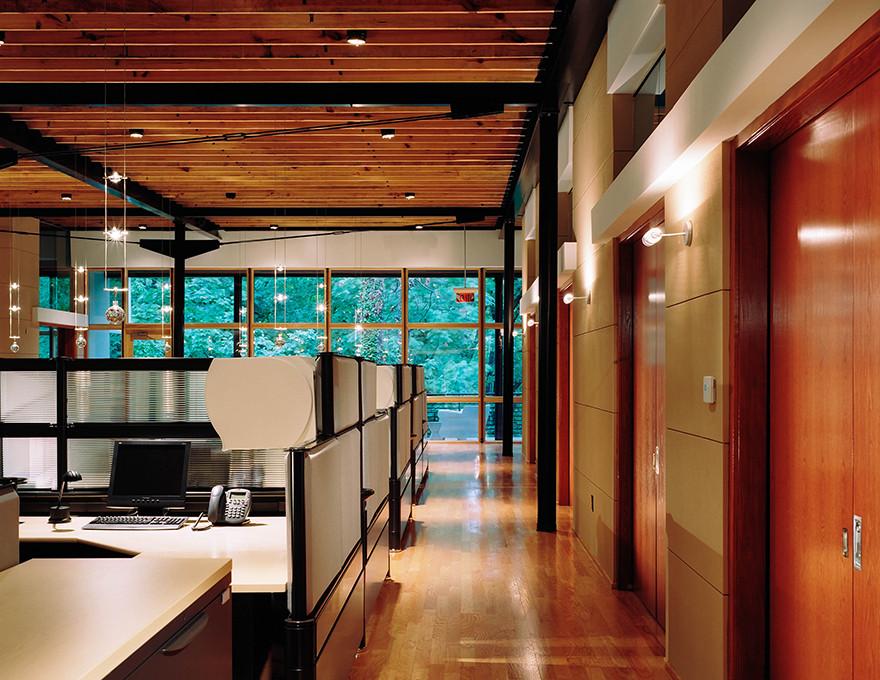 Atlanta, GA Office Building Interior Work Area