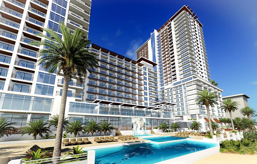 Daytona, FL Hotel and Condos Poolside