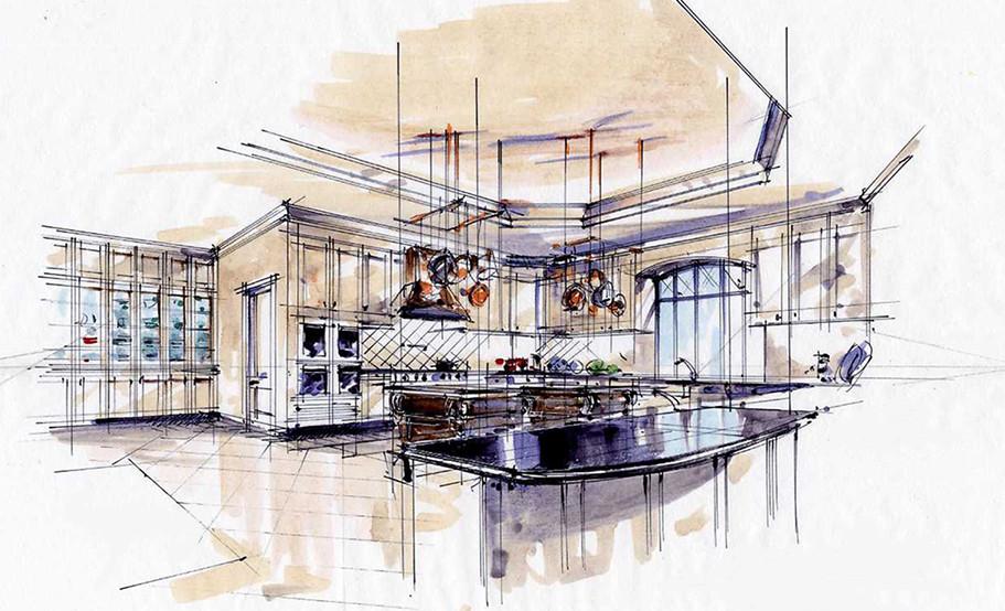 Atlanta, GA Estate Kitchen