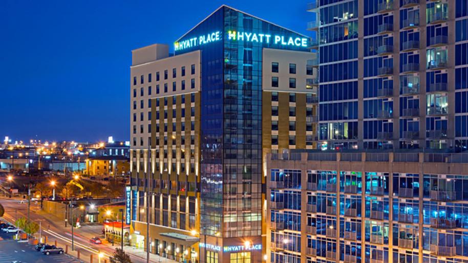 Nashville, TN Hyatt Place Exterior Dusk