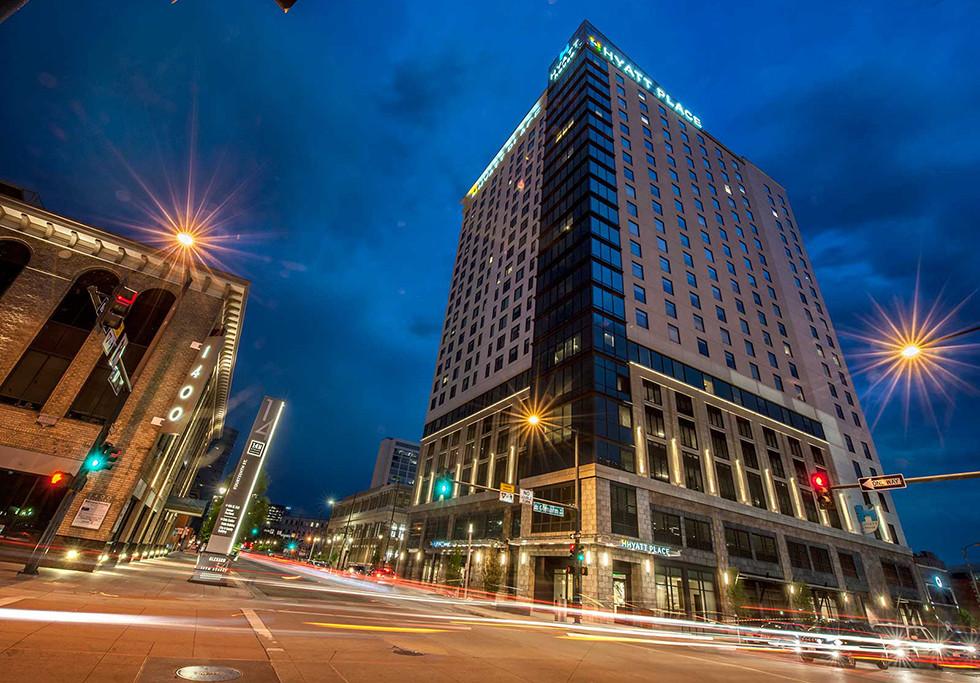 Denver, CO Hyatt Place/Hyatt House Exterior