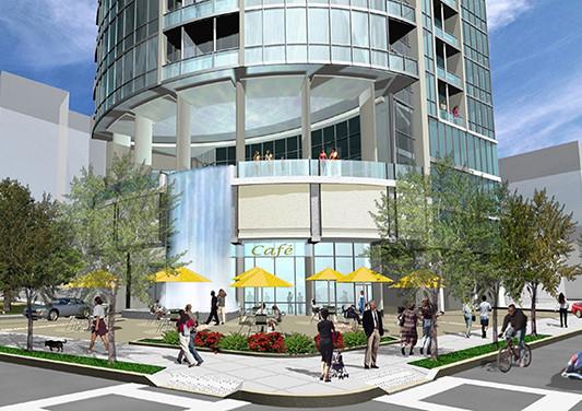 Atlanta, GA Aquarius Tower Base