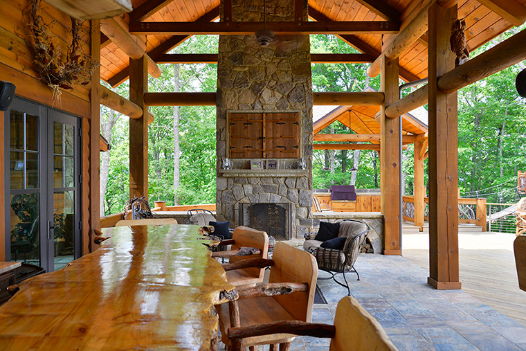Blue Ridge, GA Residence - Outdoor Living