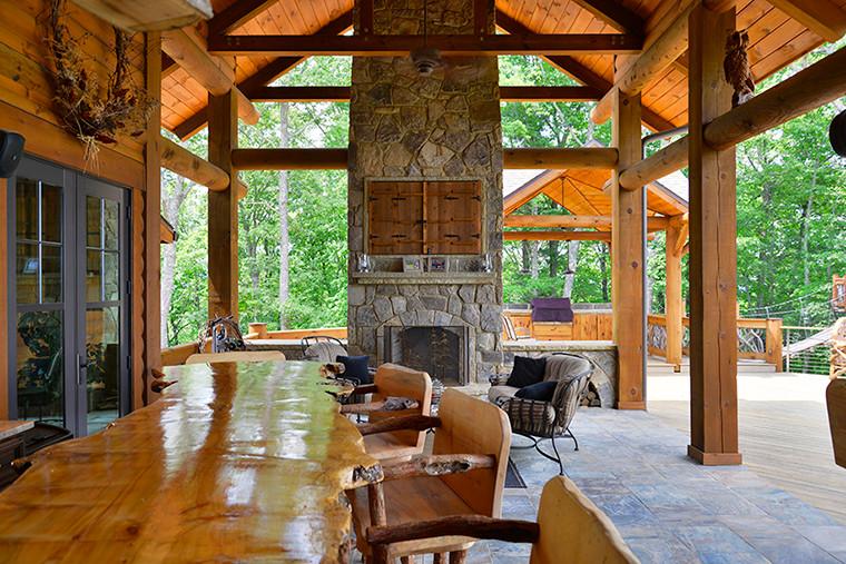 Blue Ridge, GA Residence - Outdoor Living