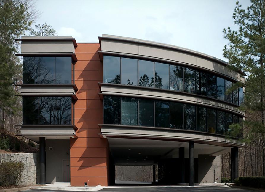 Atlanta, GA Office Building Exterior Entry