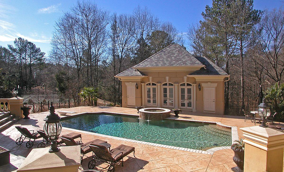 Atlanta, GA Residence Poolhouse