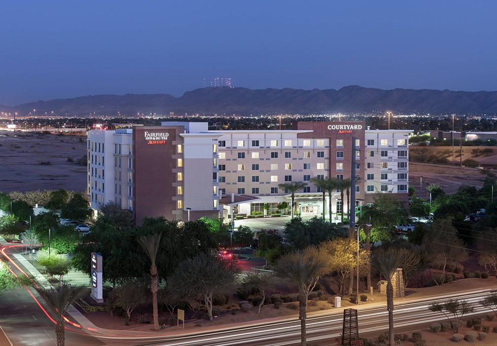 Chandler, AZ Courtyard/Fairfield Inn Exterior