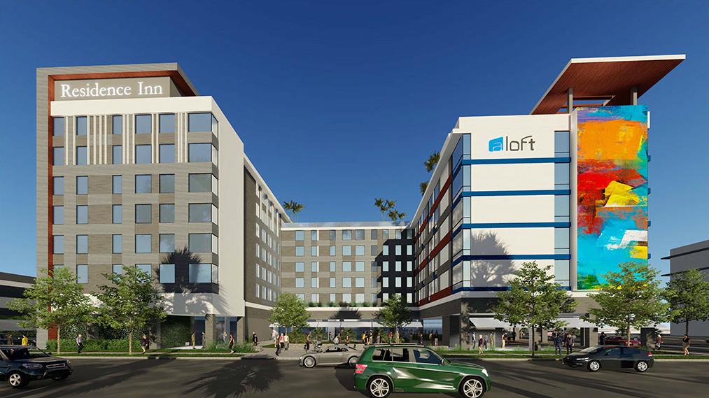 Burbank, CA Residence Inn/Aloft