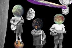 Jupiter's moon band