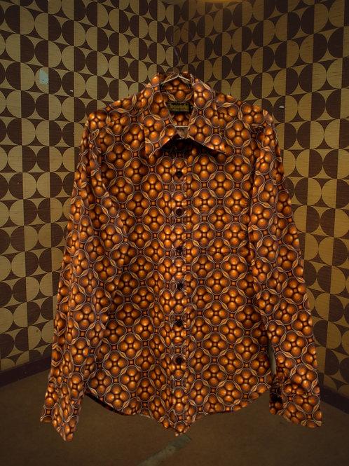 Chemise motif iconique 70's
