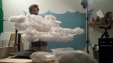 Making the set - Part 3 - Sky and dunes