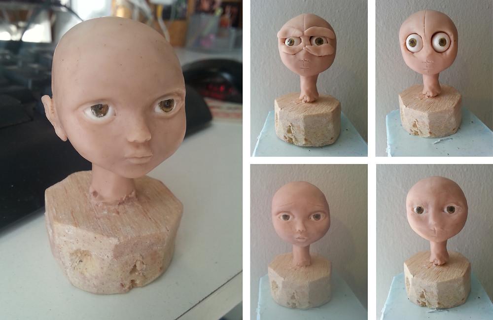 Modeling puppet head