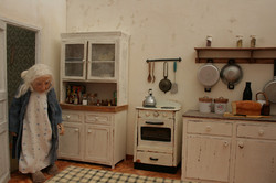 An old kitchen - From fading Note