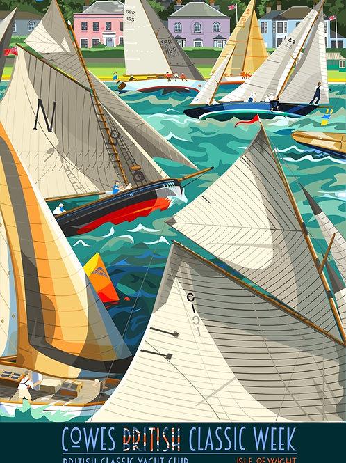 British Classic Yacht Club - Cowes