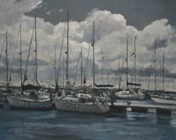 Cumulus Cloud Yarmouth Harbour