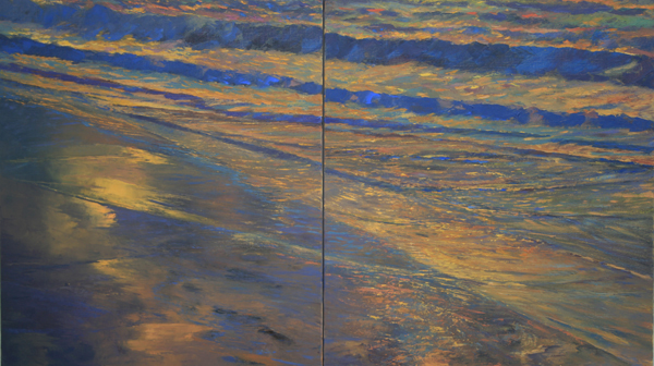 Diptych, at the edge series 2