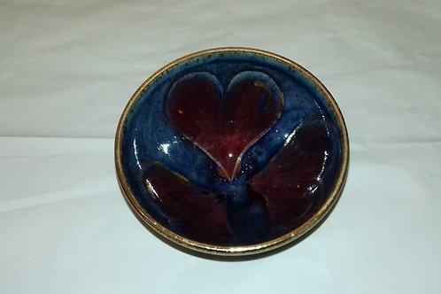 Heart Motif Olive Bowl