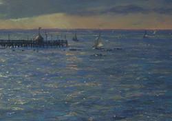 Yarmouth Pier, Sunday Sailing