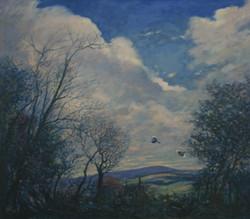 Cumulus Over West Wight