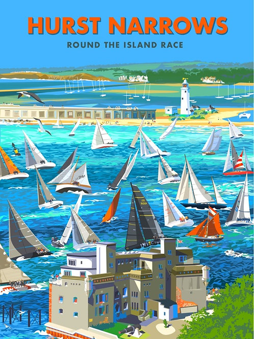 Round the Island Race - Mind the Trap