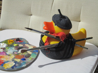 Easter and Picasso Duck