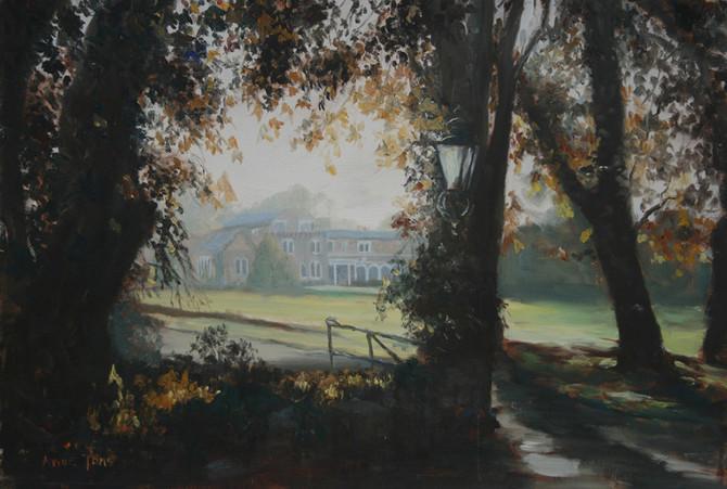 Farringford House, home of poet Tennyson