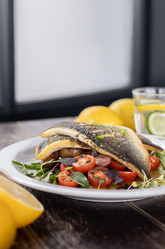 Grilled fish | food photography