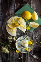Sicilian lemon cheesecake  | food photography