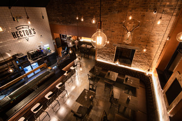 Hectors Pizza restaurant | interior photography