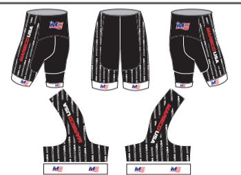 Marsco USA Spandex training shorts