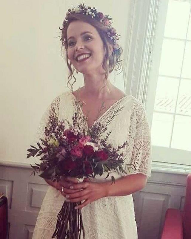 ❤💄️👰🏻 Que noiva mais linda!!! #vanessakuzermakeup #skincare _biodermaportugal #makeuplook #makeup