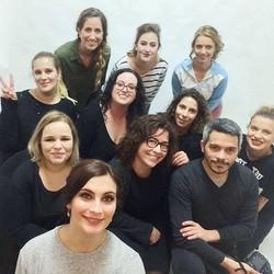 Workshop de Maquilhagem para noivas _Foto da equipa 👰🏻_Maquilhadoras, modelos, cabeleireira e fotó