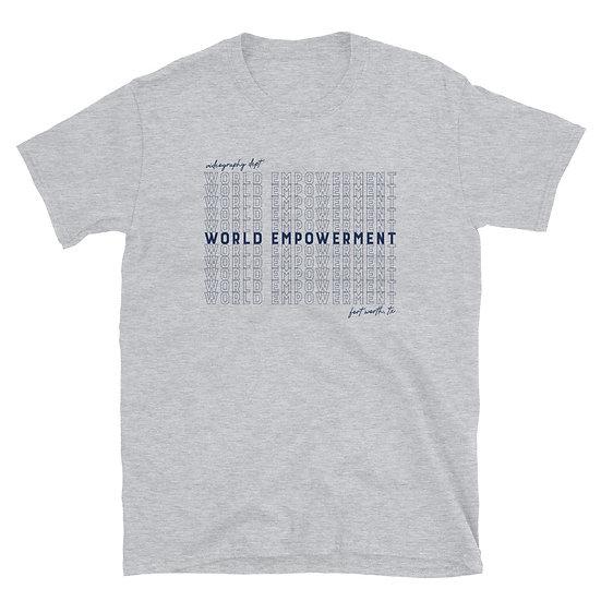 S1 WORLD Word T-Shirt | Grey