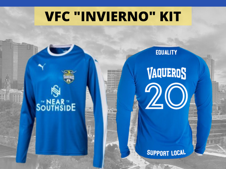 New Season – means New Kit and NEW Sponsor!