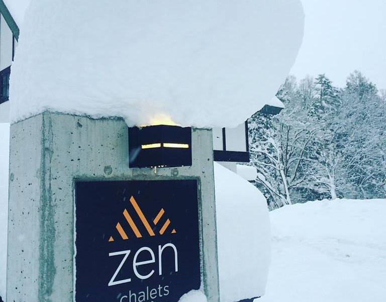 Zen Chalets Hakuba - the best location in Hakuba.